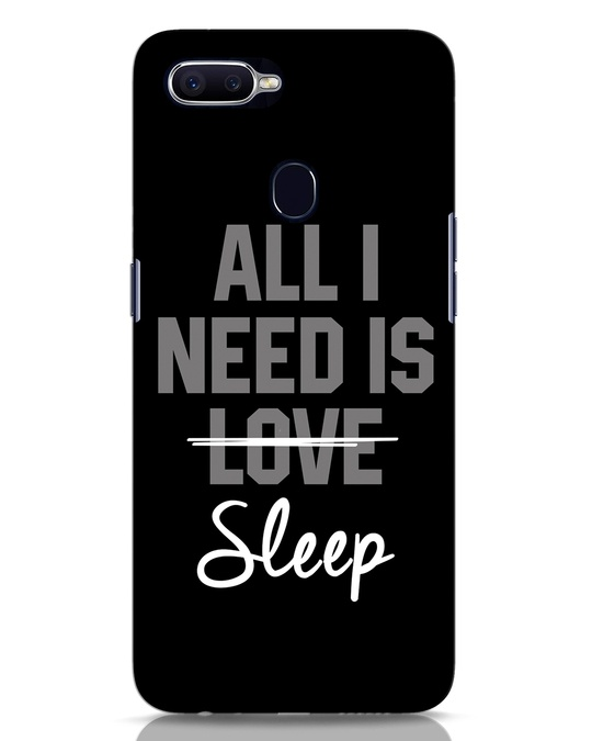 Shop Sleep Oppo F9 Pro Mobile Cover-Front