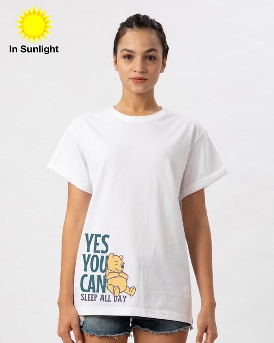 Shop Sleep Pooh Sun Active T-Shirt (DL)-Full