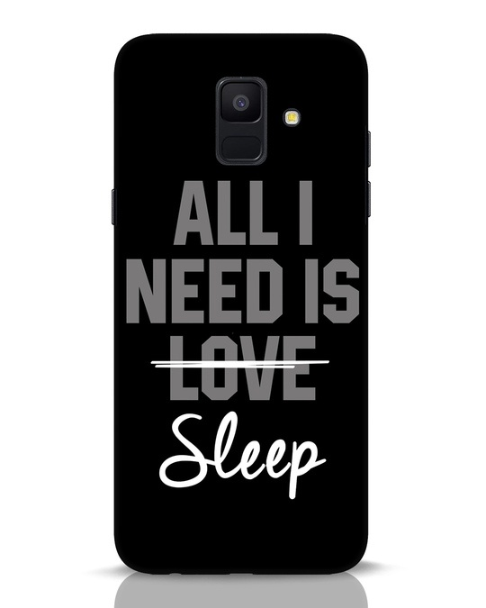Shop Sleep Samsung Galaxy A6 2018 Mobile Cover-Front