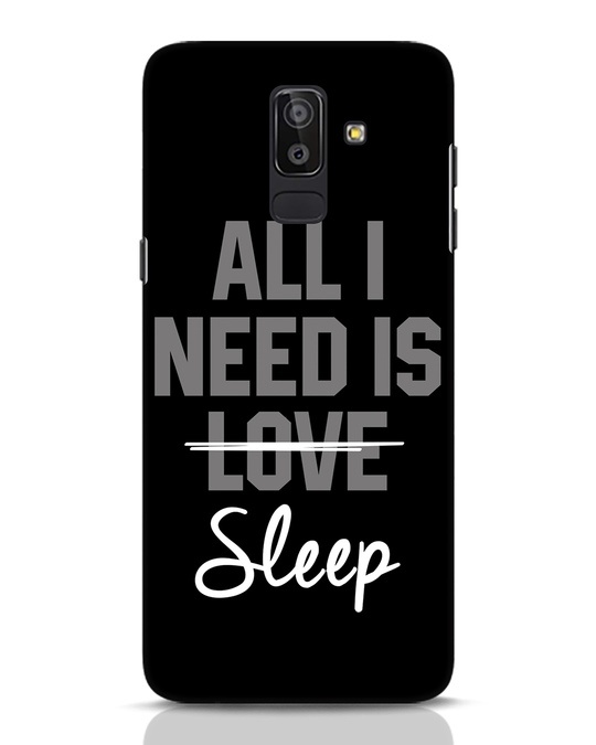 Shop Sleep Samsung Galaxy J8 Mobile Cover-Front