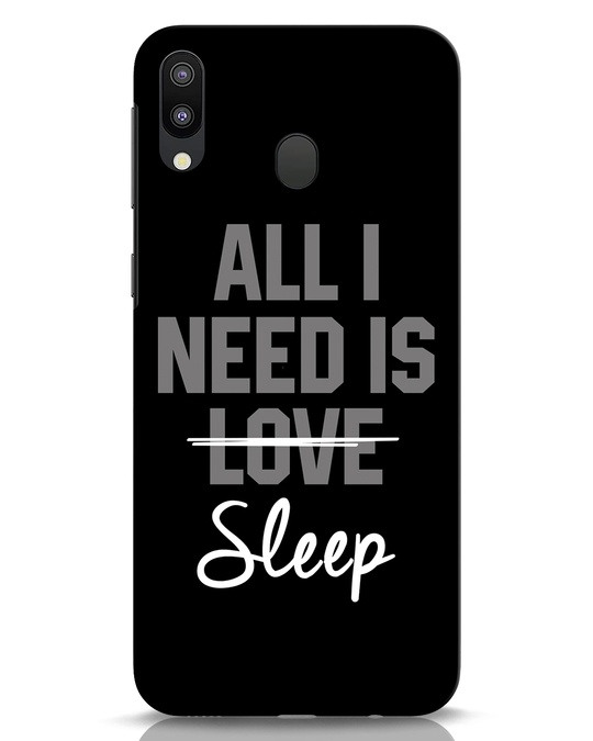 Shop Sleep Samsung Galaxy M20 Mobile Cover-Front