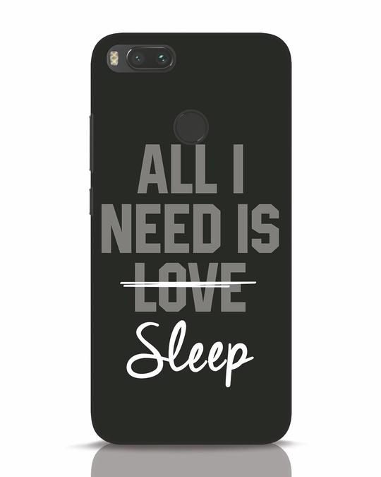 Shop Sleep Xiaomi Mi A1 Mobile Cover-Front