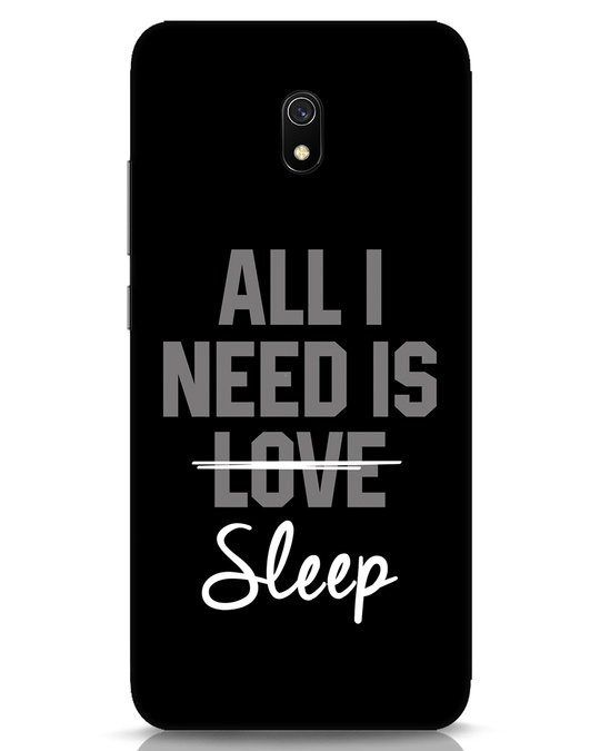 Shop Sleep Xiaomi Redmi 8A Mobile Cover-Front