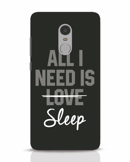 Shop Sleep Xiaomi Redmi Note 4 Mobile Cover-Front