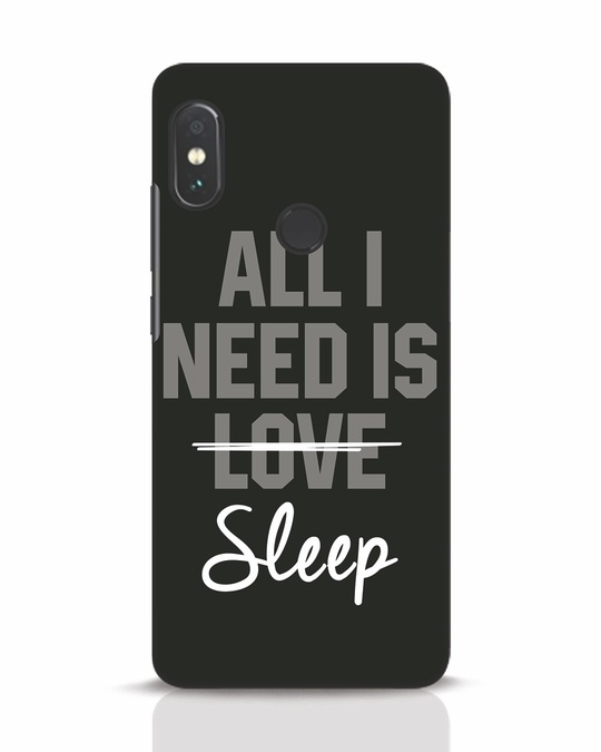 Shop Sleep Xiaomi Redmi Note 5 Pro Mobile Cover-Front