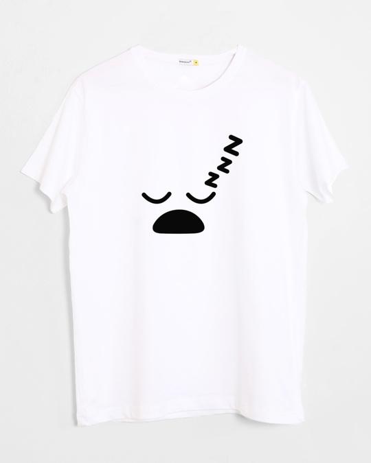 Shop Sleepy Half Sleeve T-Shirt-Front