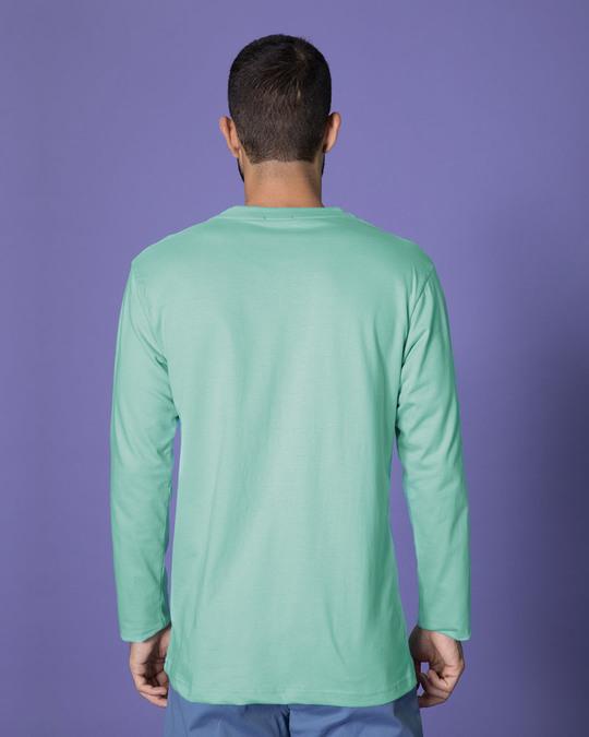 Shop Sleepy Mickey Full Sleeve T-Shirt (DL)-Back