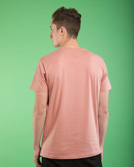 Shop Sleepy Mickey Half Sleeve T-Shirt (DL)-Back