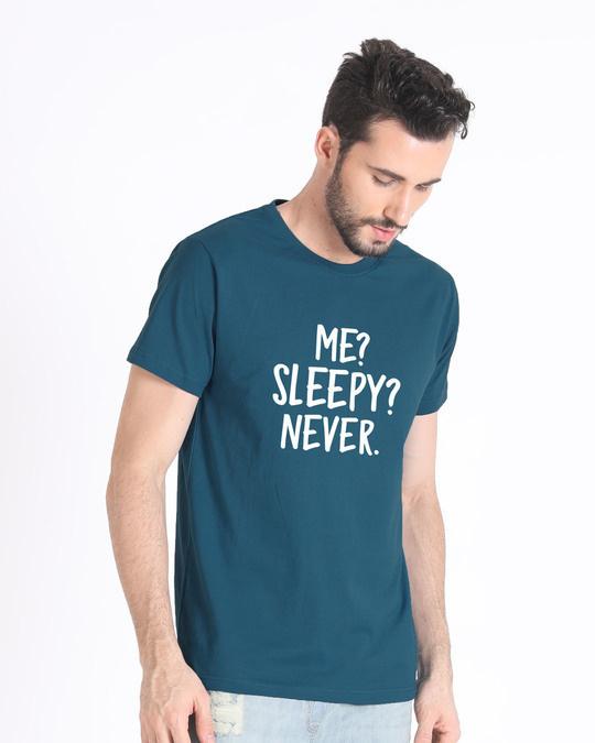 Shop Sleepy Or Me Half Sleeve T-Shirt-Full