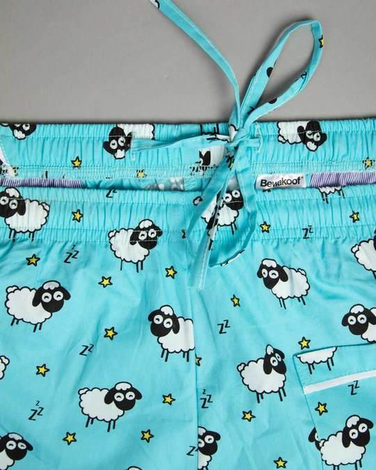 Shop Sleepy Sheep All Over Printed Pyjama