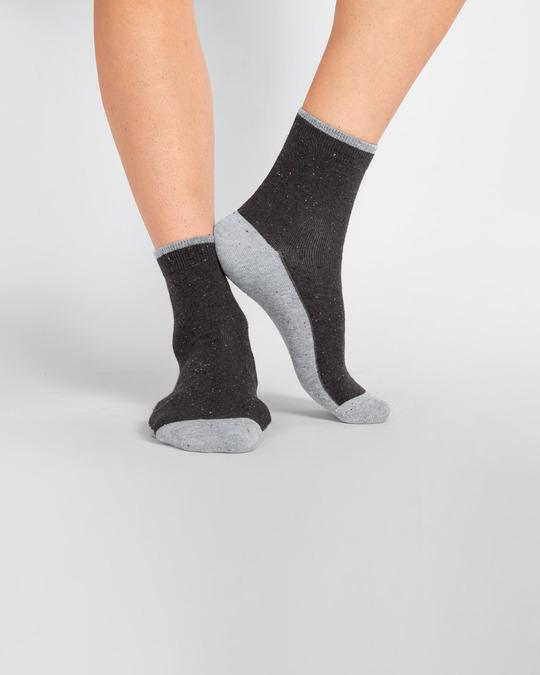 Shop Men's Slub Party Ankle Length Socks-Design
