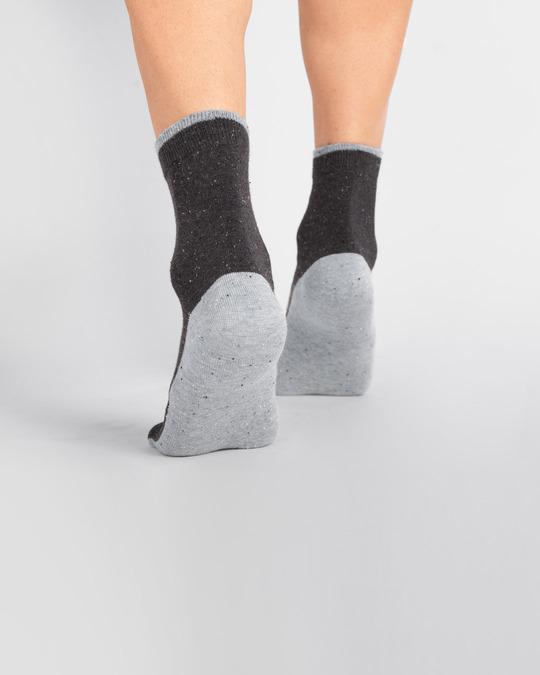 Shop Men's Slub Party Ankle Length Socks-Full