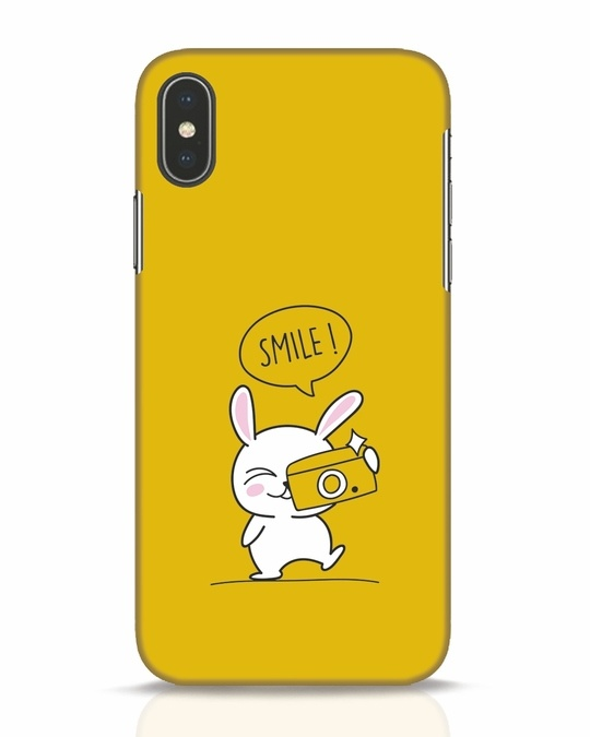 Shop Smile Please iPhone X Mobile Cover-Front