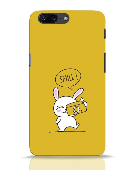 Shop Smile Please OnePlus 5 Mobile Cover-Front