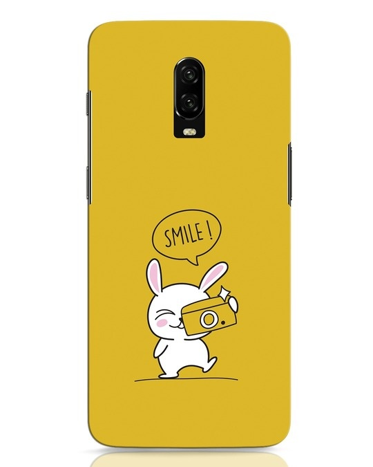 Shop Smile Please OnePlus 6T Mobile Cover-Front