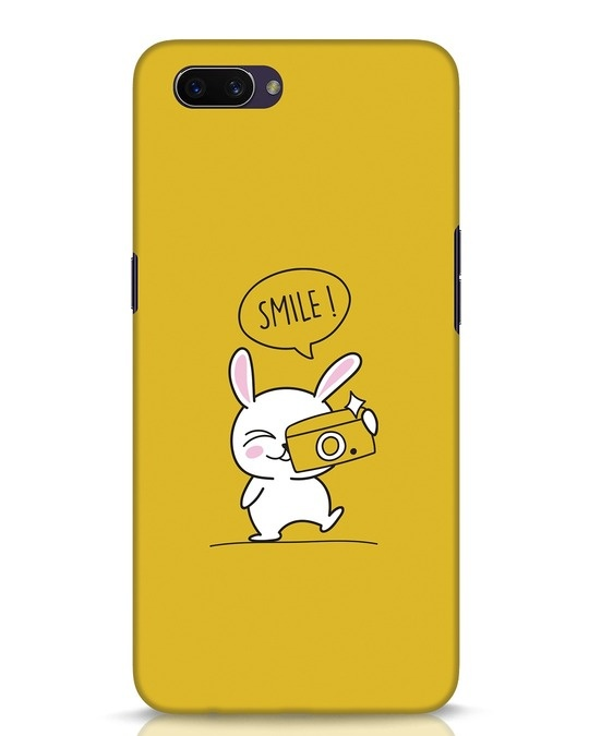 Shop Smile Please Oppo A3S Mobile Cover-Front