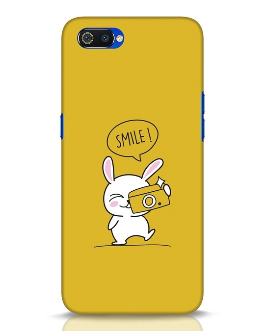 Shop Smile Please Realme C2 Mobile Cover-Front