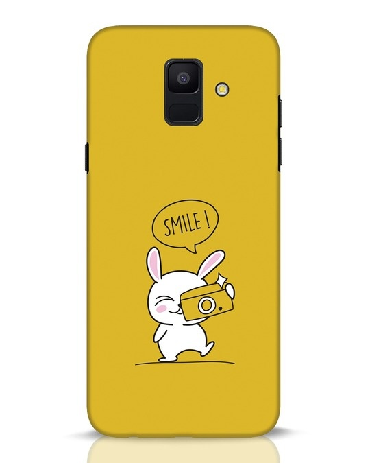 Shop Smile Please Samsung Galaxy A6 2018 Mobile Cover-Front