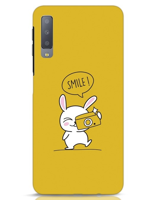Shop Smile Please Samsung Galaxy A7 Mobile Cover-Front