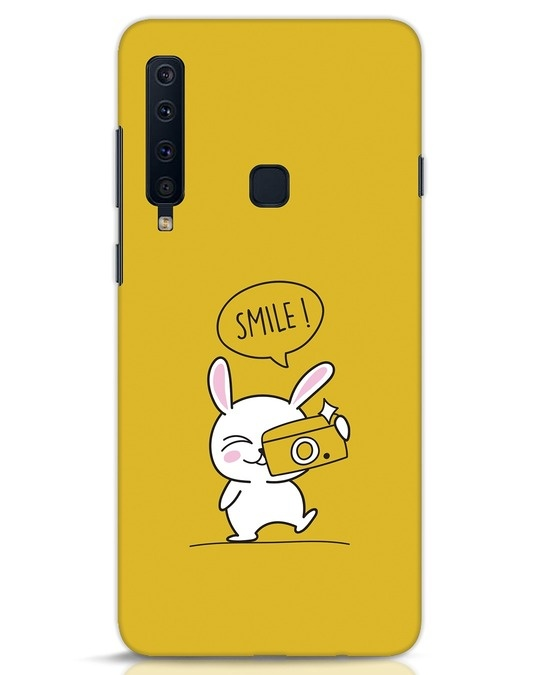 Shop Smile Please Samsung Galaxy A9 2018 Mobile Cover-Front