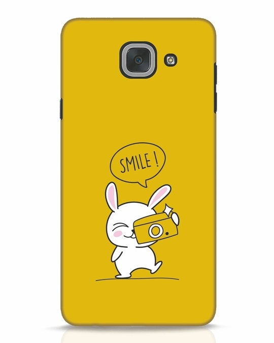 Shop Smile Please Samsung Galaxy J7 Max Mobile Cover-Front