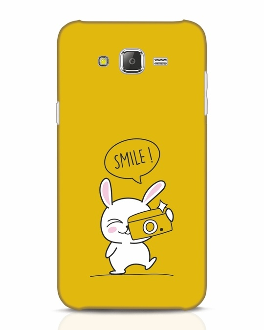 Shop Smile Please Samsung Galaxy J7 Mobile Cover-Front