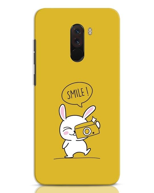 Shop Smile Please Xiaomi POCO F1 Mobile Cover-Front