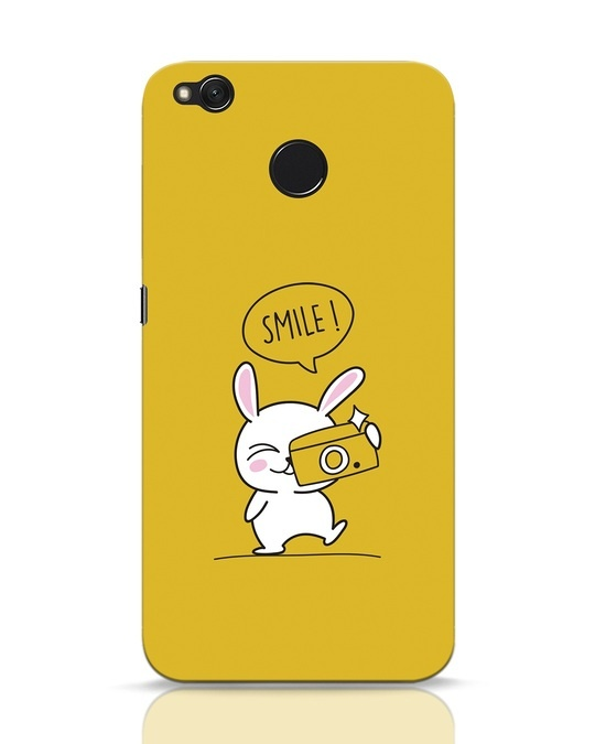 Shop Smile Please Xiaomi Redmi 4 Mobile Cover-Front