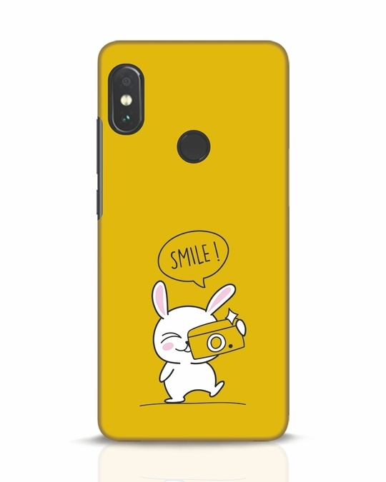 Shop Smile Please Xiaomi Redmi Note 5 Pro Mobile Cover-Front