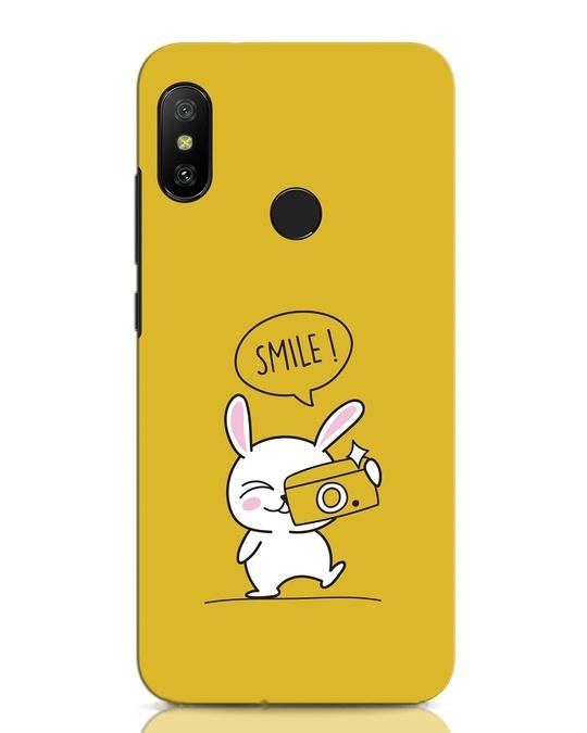Shop Smile Please Xiaomi Redmi Note 6 Pro Mobile Cover-Front