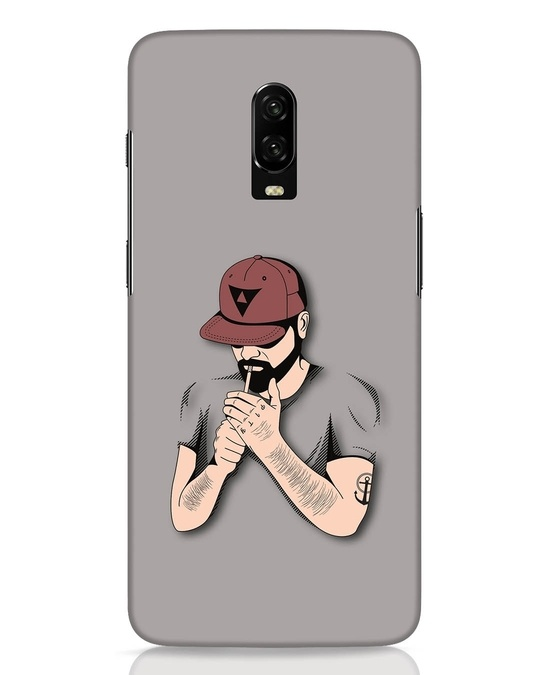 Shop Smoke Merge OnePlus 6T Mobile Cover-Front