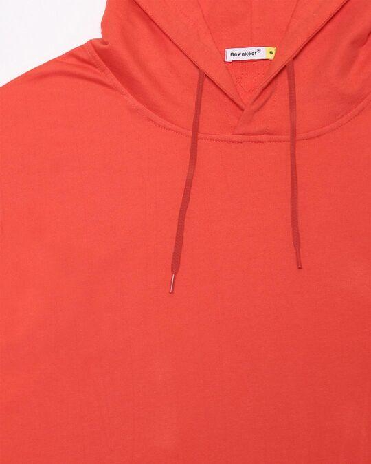 Shop Smoke Red Hoodie Sweatshirt
