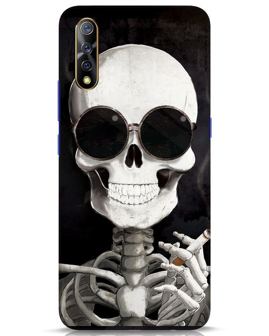 Shop Smoking Skull Vivo S1 Mobile Cover-Front
