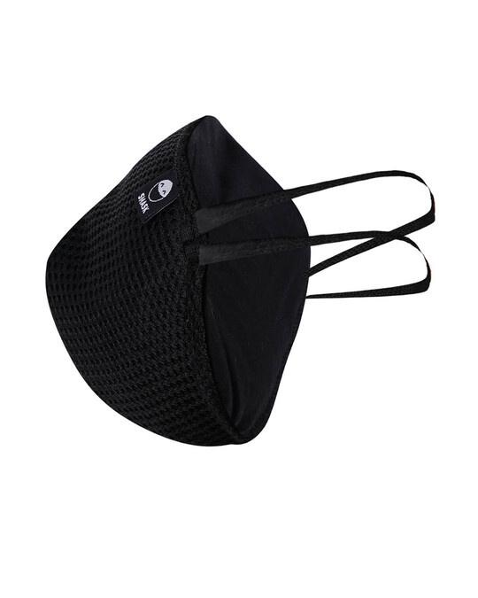 Shop Black Mesh Overhead 3pc Bundle Mask-Back
