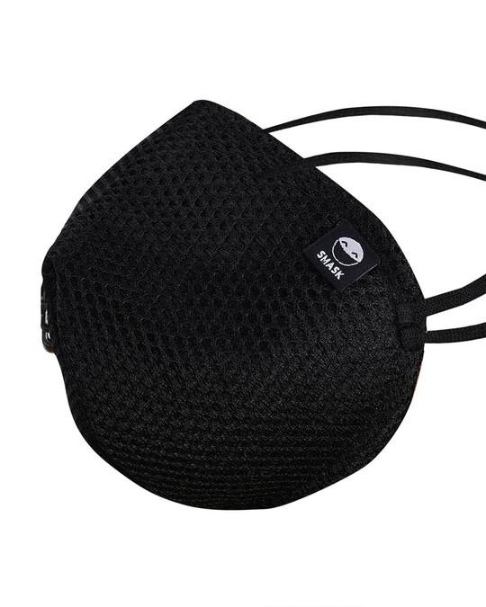 Shop Black Mesh Overhead 3pc Bundle Mask-Design