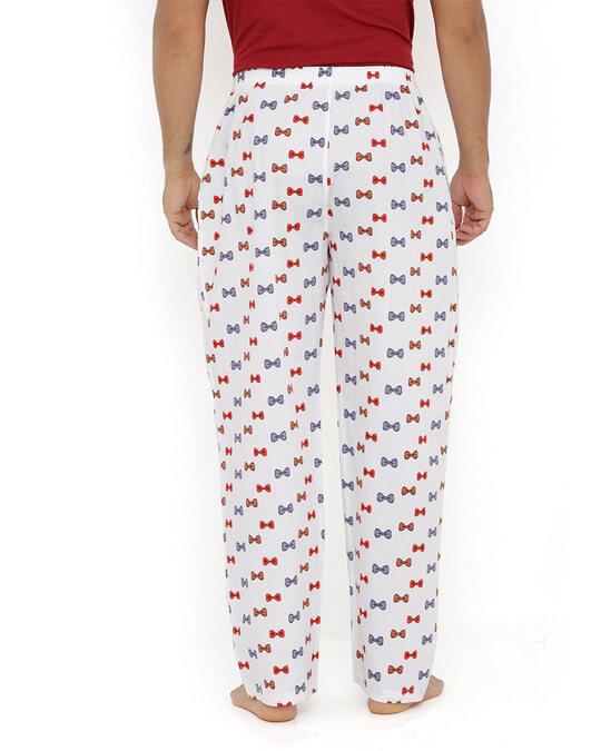 Shop Smugglerz Bows White Pyjamas-Design