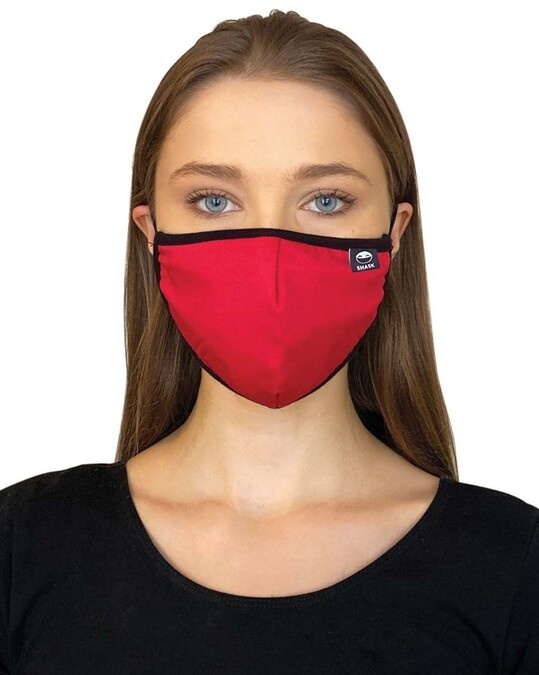 Shop Grey Red Black Bundle Combo Mask-Full