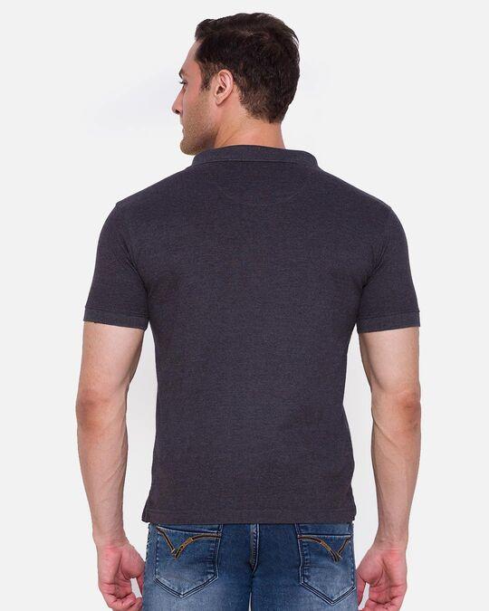 Shop Inc. Men's Armor Polo T Shirt Charcoal-Design