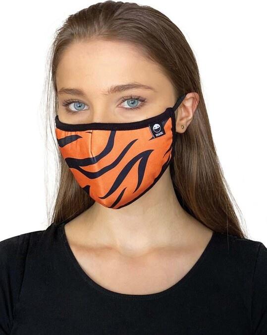 Shop Leopard Palms Tiger Bundle Combo Mask-Back