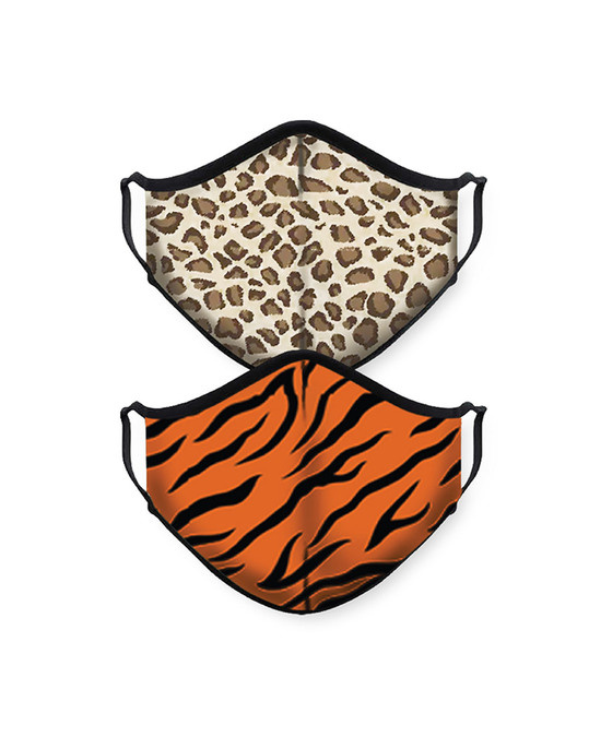 Shop Leopard Tiger Bundle Combo Mask-Front