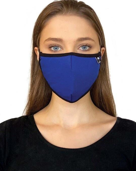 Shop Royal Blue  Grey Skull Bundle Combo Mask-Design