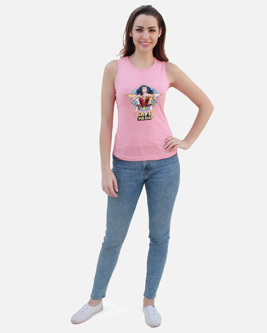 Shop Women's Ww84 Save The Day Tank Top-Full