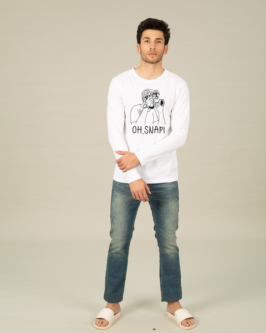 Shop Snap It Full Sleeve T-Shirt-Full