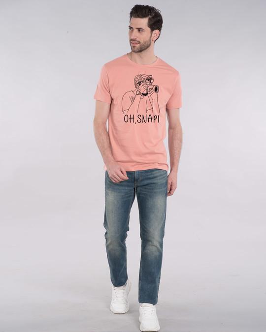 Shop Snap It Half Sleeve T-Shirt-Design