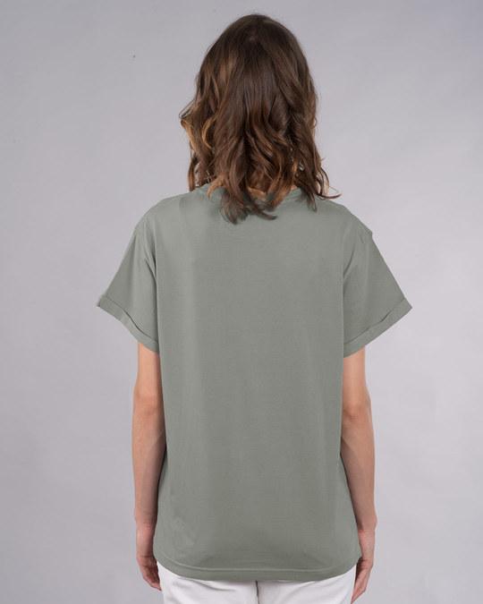 Shop Sneaker Girl Boyfriend T-Shirt-Back