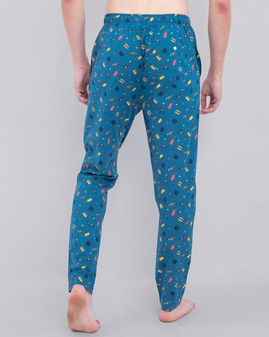 Shop Snitch Blue Playful Pyjama-Design