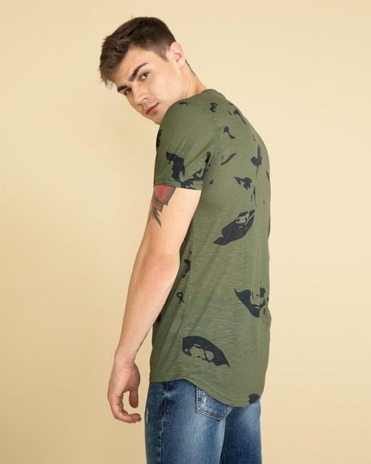 Shop Camo Olive T Shirt-Design