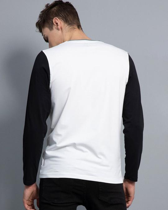 Shop Convivial White Full Sleeves T Shirt-Design