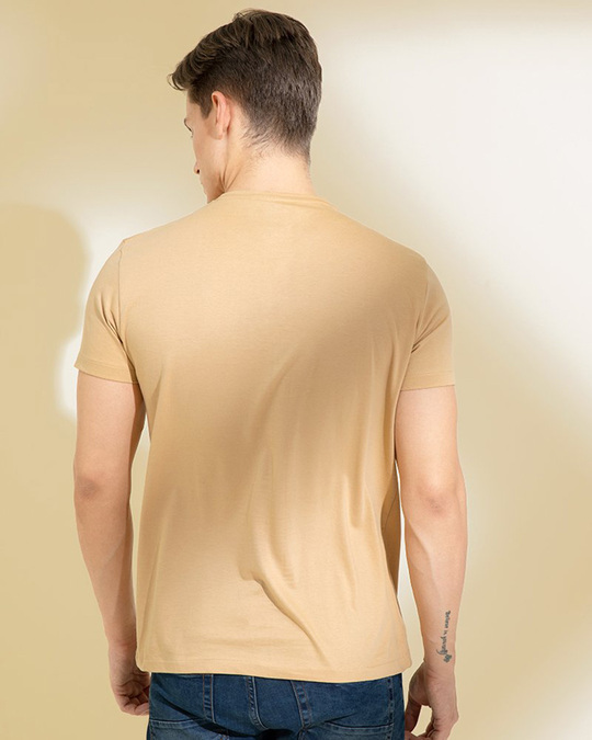 Shop Daffodil Sand Beige Graphic T Shirt-Design