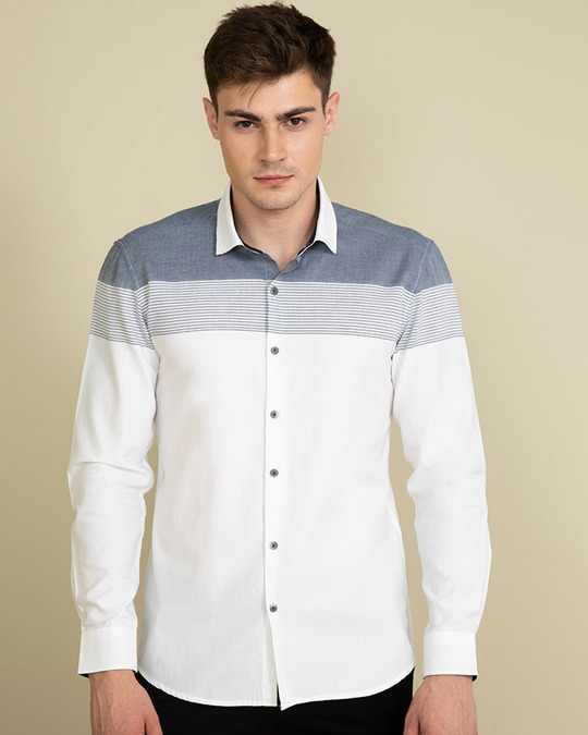 Shop Flamboyant White Shirt-Front